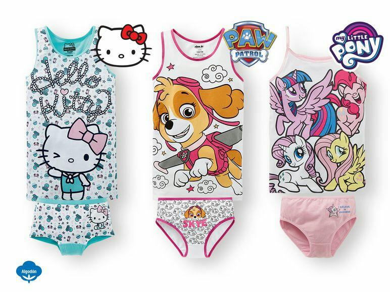 Conjunto de ropa interior infantil