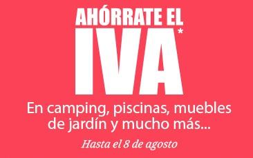Carrefour SIN IVA piscinas,jardín,camping,barbacoas,sillería...