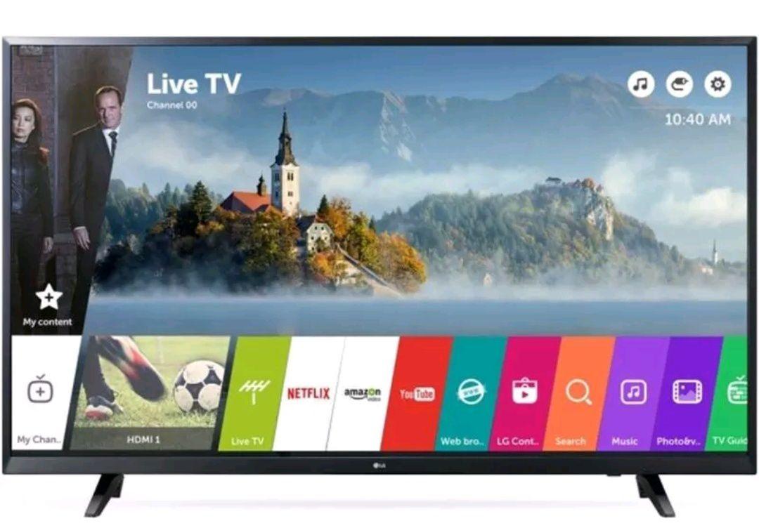 "LG 43"" 4k HDR SmartTV solo 349€"