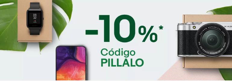 10% EXTRA en selección eBay Tecnología