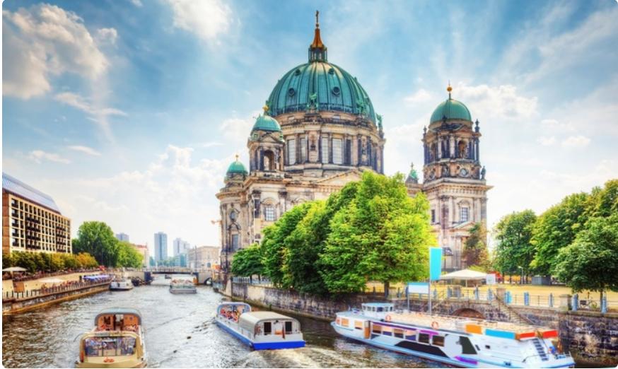 Vuelo i/v a Berlín + 4 noches hotel (con desayuno)