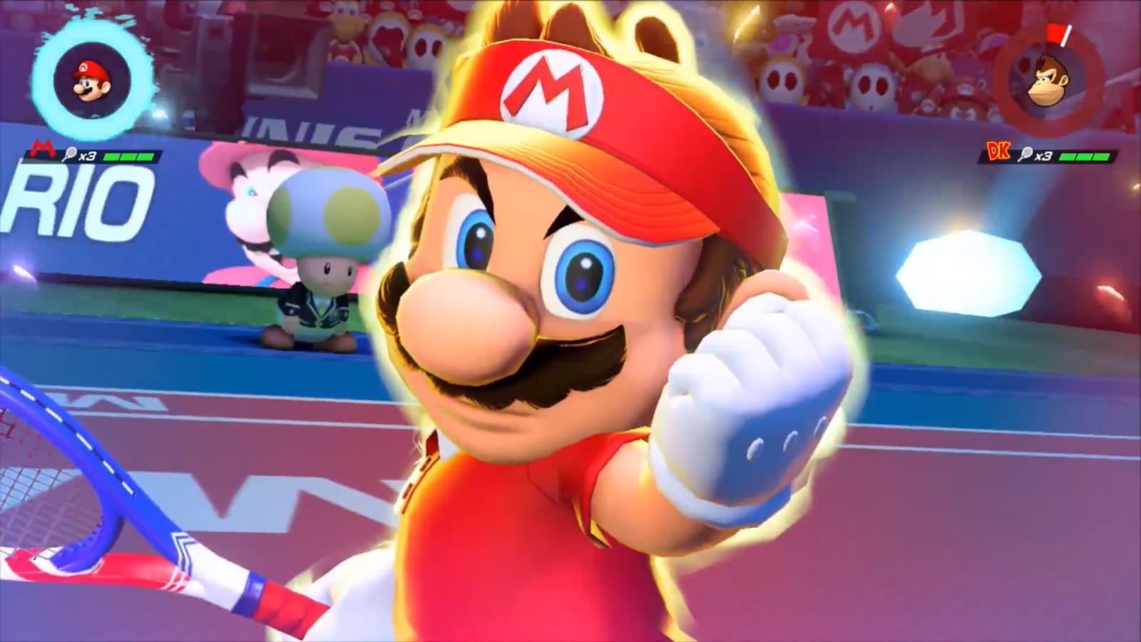 Mario Tennis Aces GRATIS miembros Nintendo Switch Online 7-13 de agosto