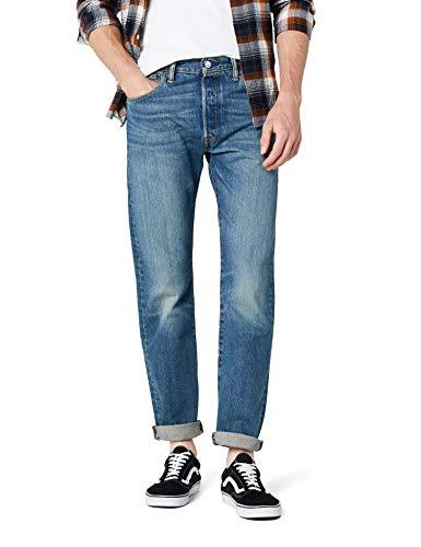 Levi's 501 Original Fit Jeans' Vaqueros, Azul (Hook 1307), 29W / 34L para Hombre