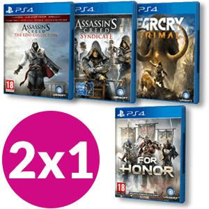 2x1 Juegos Ubisoft (Game)