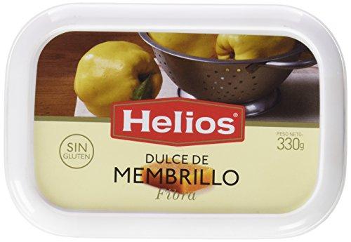 6 unidades de Helios dulce de membrillo con fibra de 330 gr cada uno