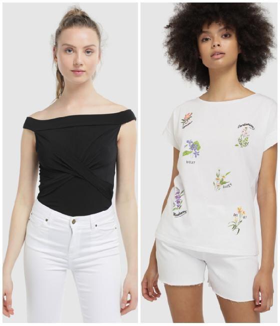 [4,99€] Camisetas de mujer Fórmula Joven