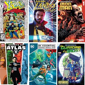 4 cómics gratis X-Men, Star War, Ultimate Iron Man y Agents Of Atlas (120 gratis)