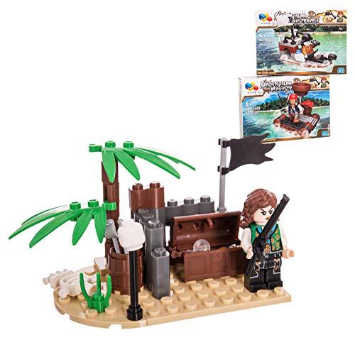 Juguete construcción Pirata
