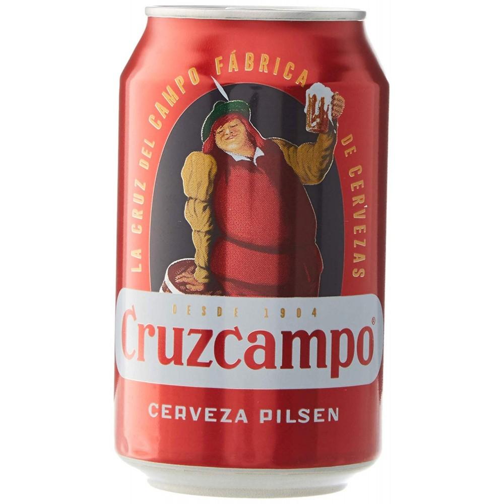 24 latas de Cruzcampo y otras marcas (solo alrededores de Barcelona) a 0,33€ la lata