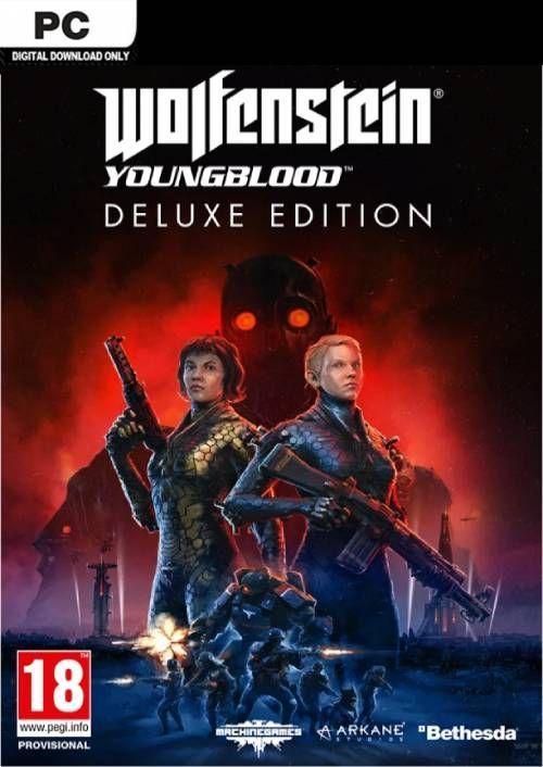 Wolfenstein: Youngblood Deluxe Edition por 20€ (PC)