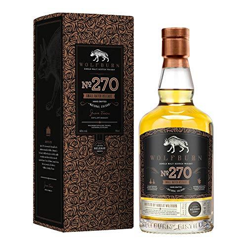 Whisky wolfburn 270 de 700 ml