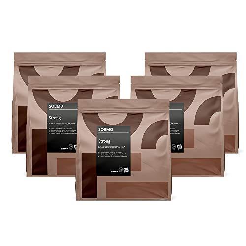 90 capsulas de cafe Solimo fuerte compatibles con senseo