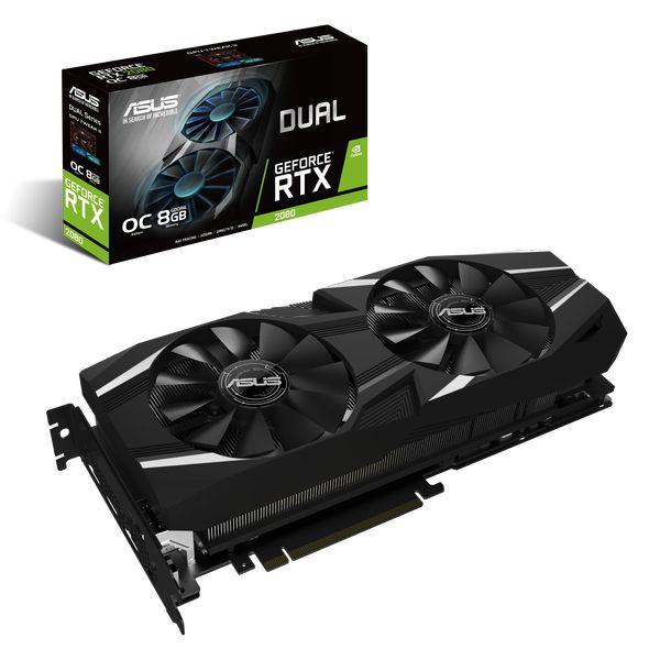 Asus Dual GeForce RTX 2080 OC Edition 8GB GDDR6 [+ Juegos]