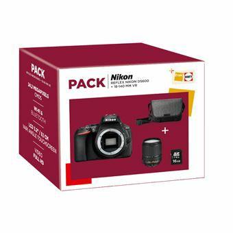 Cámara Réflex Nikon 5600 + 18-140mm VR Pack