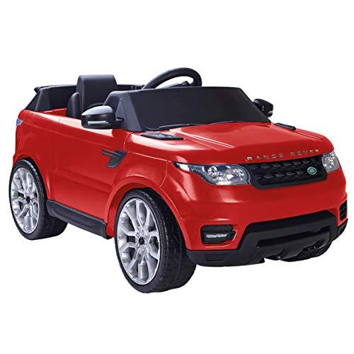 FEBER- Range Rover Sport Coche eléctrico para niños de 3 a 7 años de Juguete, 6V, Color Rojo