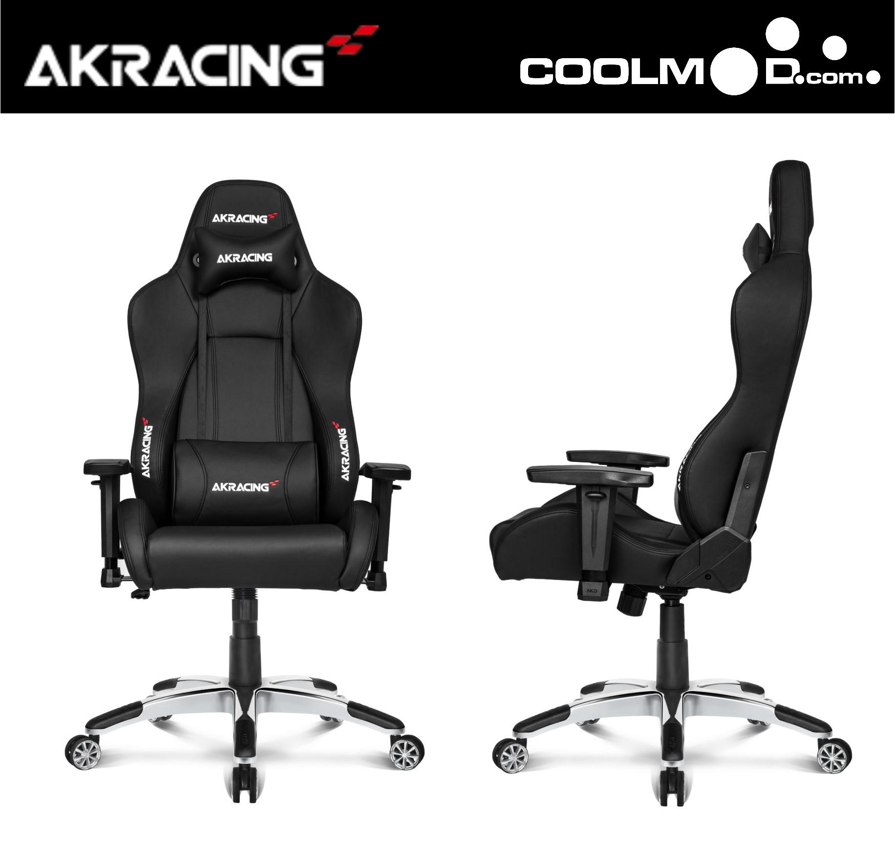 Silla Oficina/Gaming - AKRacing Masters Series Premium Negro [10 Años Garantía]