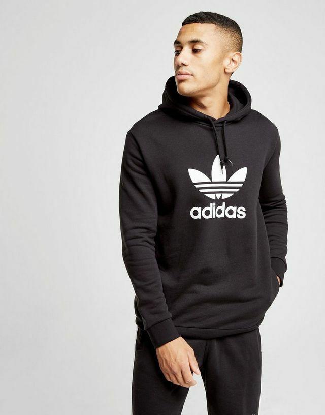 Sudadera Adidas Original trefoil state en negro