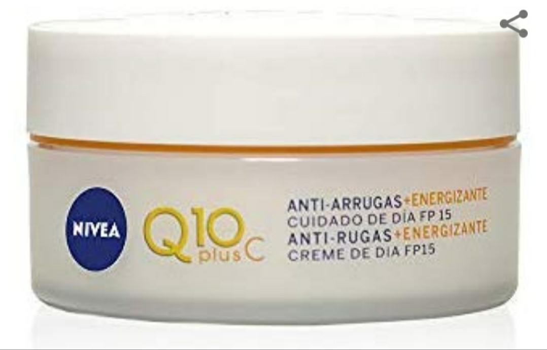 NIVEA Q10plusC Anti-Arrugas + Energizante Cuidado de Día 50 ml