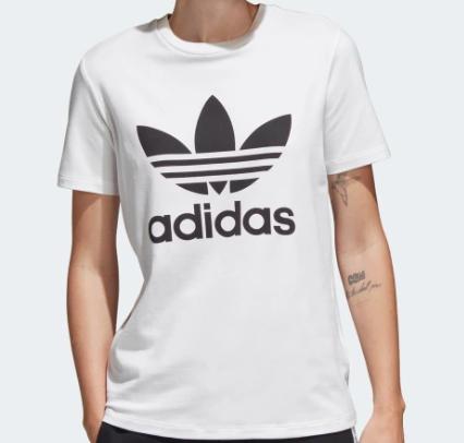 Camiseta de mujer Trefoil Adidas