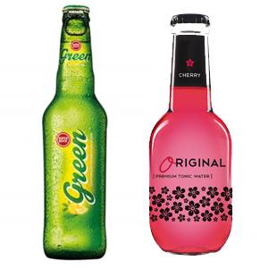 Cerveza  33cl SUPER BOCK o Tónica premium cherry ORIGINAL CHERRY