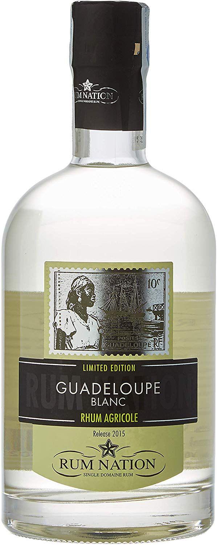 Ron Nation Agrícola de Guadalupe Blanco Edición Limitada - 700 ml.