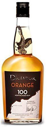 Ron Dictador Naranja 100 Meses - 700 ml.