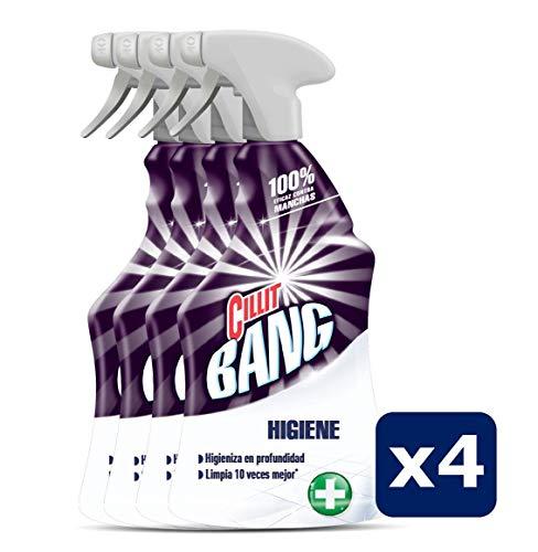 Cillit Bang  Higiene Spray Potente Limpiador, Pack de 4 - 750 ml