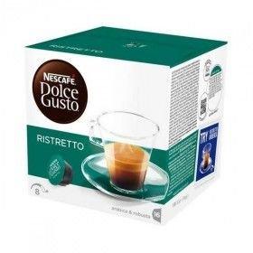 Cápsulas de Café Nescafé Dolce Gusto Espresso Ristretto (48 uds)