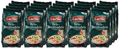 Lien Ying Fideos de Arroz - Paquete de 20 x 250 gr - Total: 5000 gr