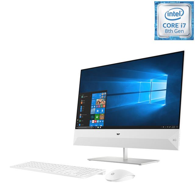All in One HP Pavilion 24-xa0906ns, i7, 8 GB, 1 TB HDD + 128 GB SSD, MX130 2 GB