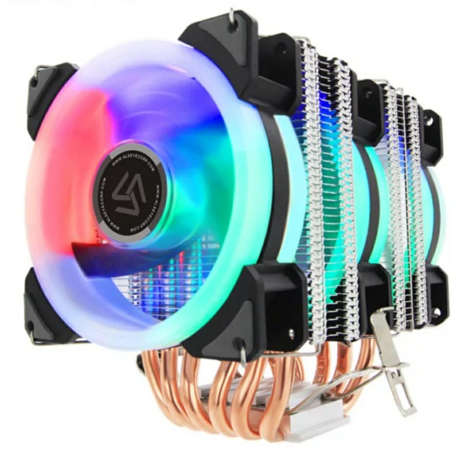 Refrigeración con 3 ventiladores RGB 15-22dB (opción 1/2 vent. Mas económica)