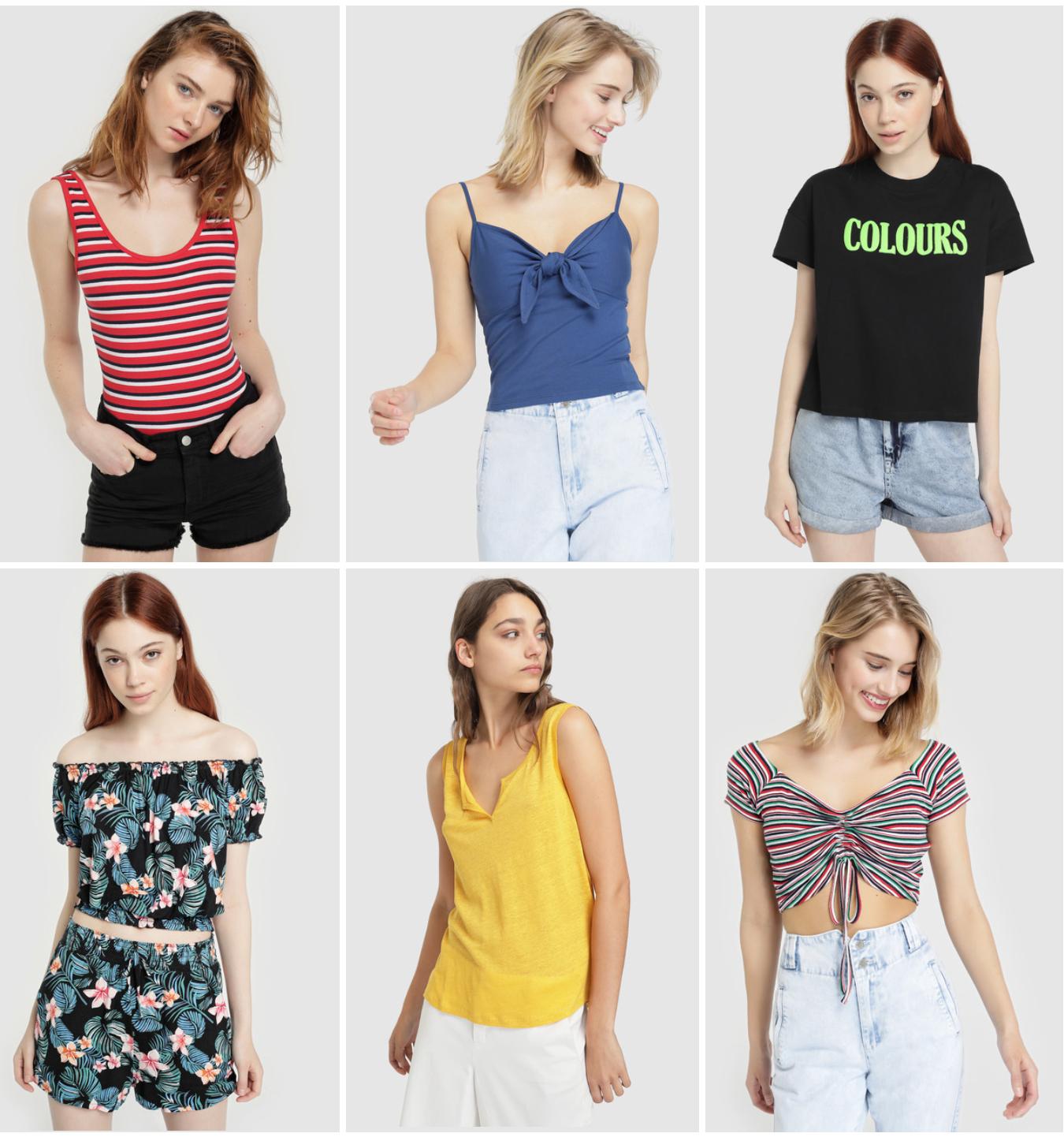 Casi 200 camisetas de mujer a 4.9€ en El Corte Inglés