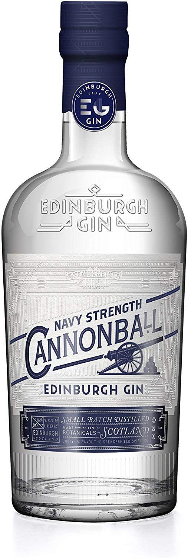 Ginebra Edinburgh Cannonball - 700 ml.