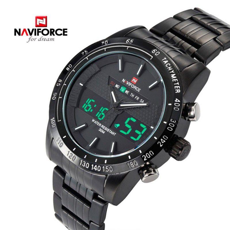Naviforce 9024 Reloj de acero solo 10.4€