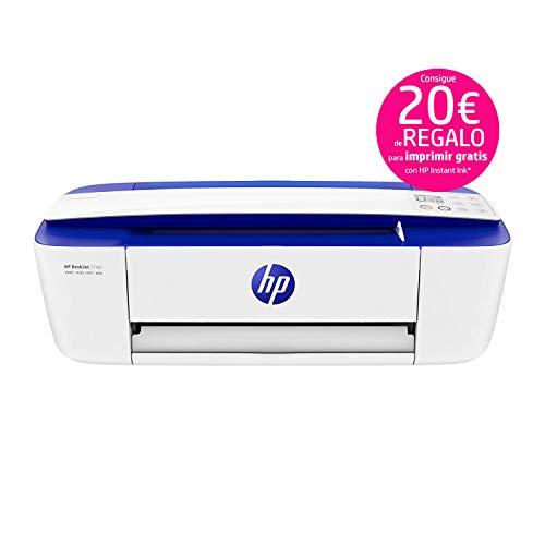 HP DeskJet 3760 - Impresora de tinta multifunción
