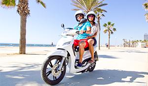 15% GRATIS al alquilar una moto de Cooltra