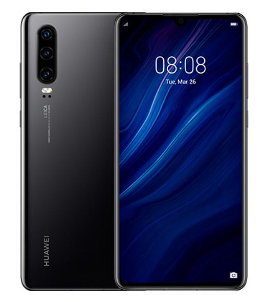 Huawei P30 (Kirin 980, 6 GB+128GB, cámara de 40 MP) Color Negro