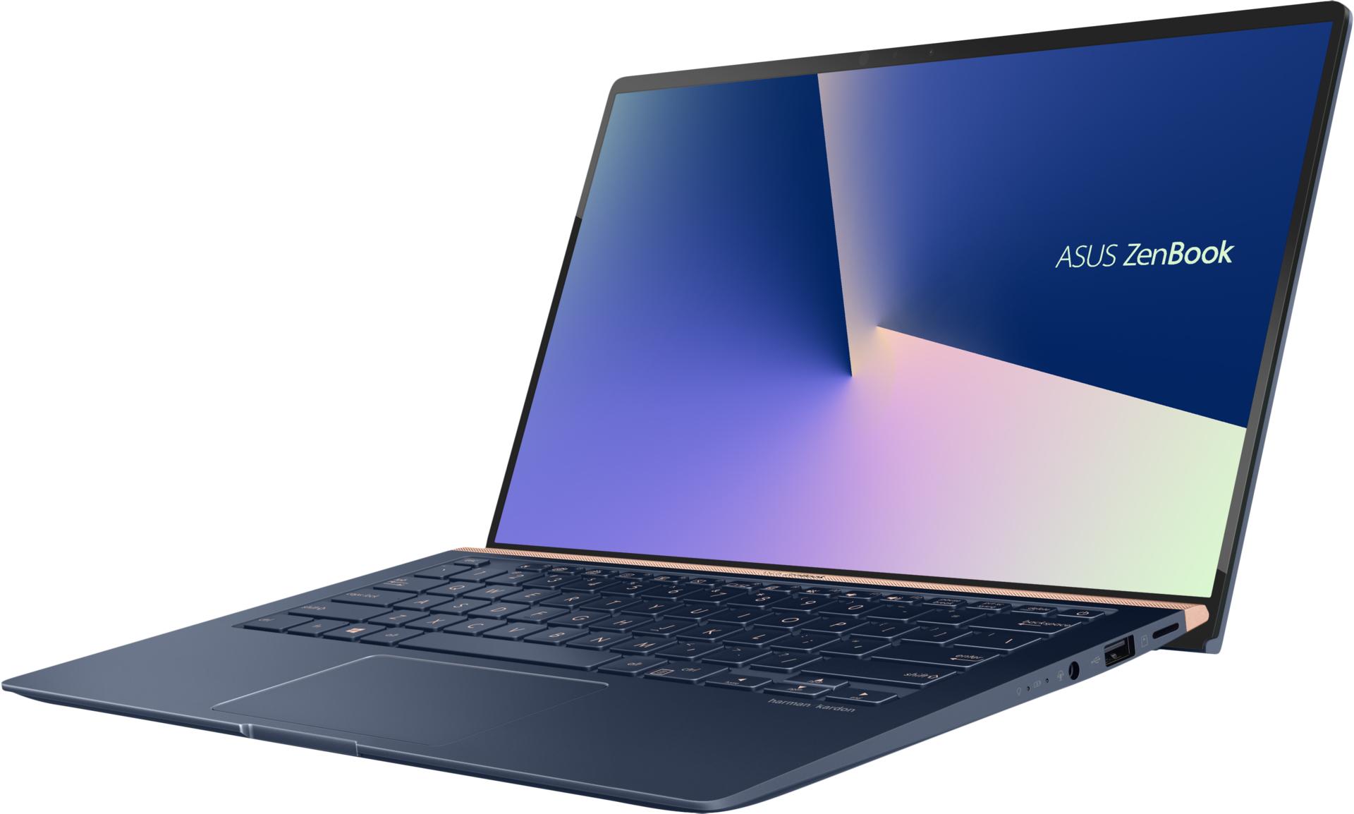 Portátil ASUS ZenBook 14 (14'', Intel Core i7-8565U, RAM: 8 GB, 256 GB SSD)