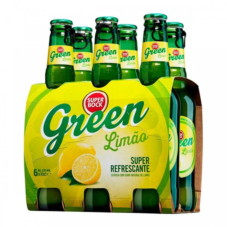 SUPER BOCK GREEN pack de 6 botellas 33cl