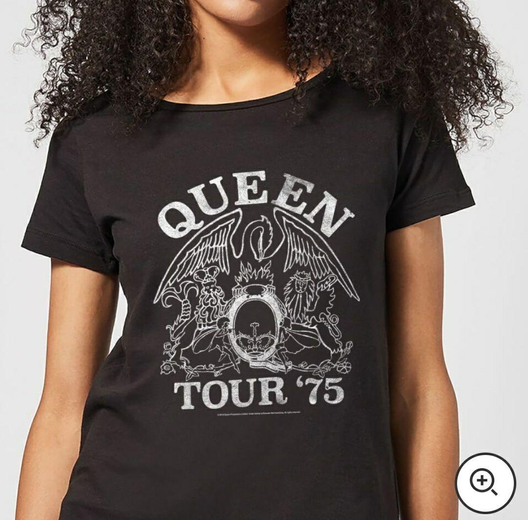 Camiseta Queen + funko pop