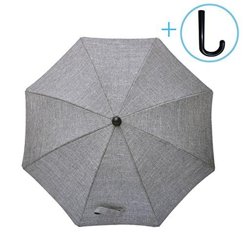 Luchild Sombrilla Paraguas para Carrito Bebe Diámetro 73cm