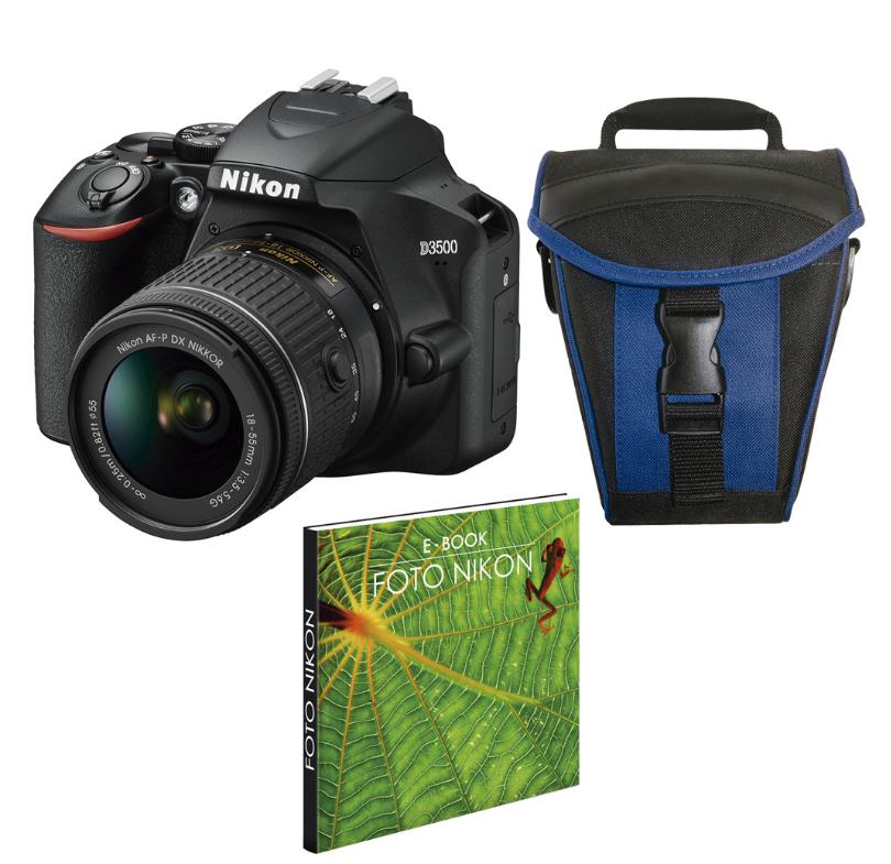Nikon D3500  con Objetivo solo 298€