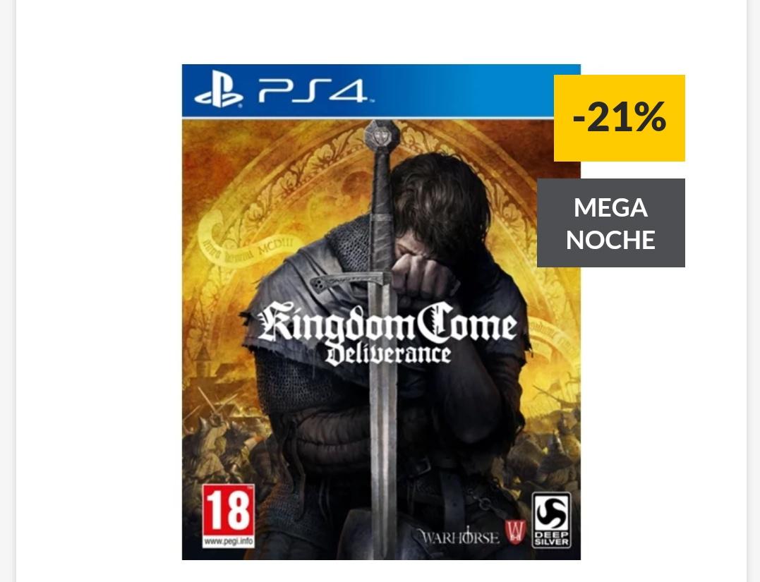 Juego PS4 Kingdom Come: Deliverance