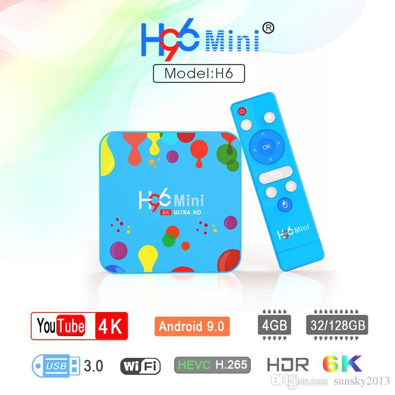 H96 Mini H6 Allwinner H6 4GB RAM 128GB
