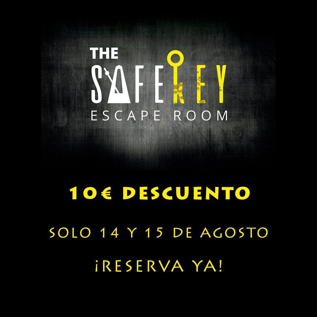 10 euros de descuento escape room Madrid