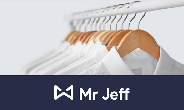 6 o 12 prendas lavadas y planchadas a domicilio en Mr Jeff App