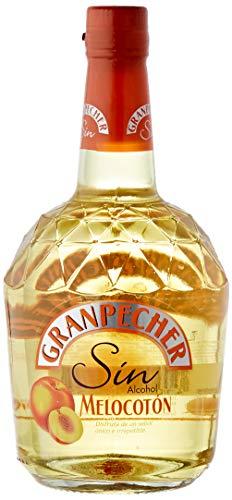 Granpecher - Licor de Melocotón sin Alcohol - 6 botellas x 700 ml - Total: 4.200 ml.