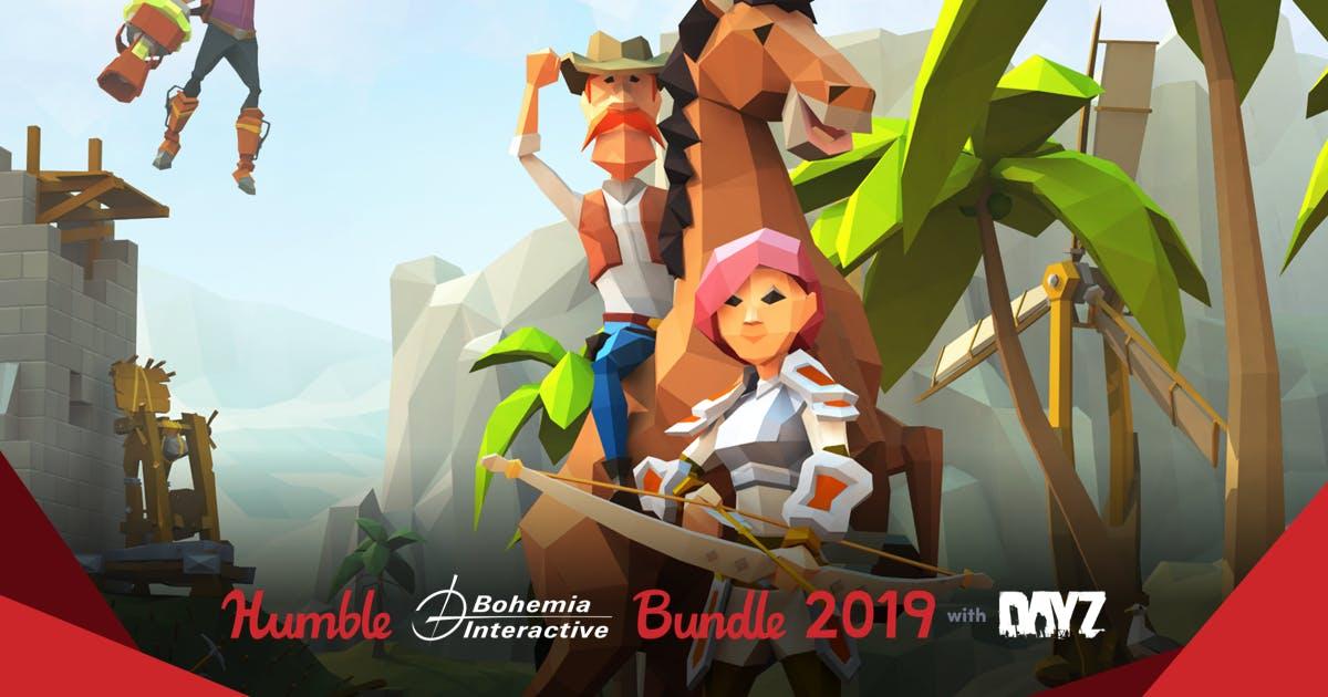 Nuevo Humblebundle de BOHEMIA INTERACTIVE desde 0.9€
