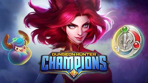 Conjunto de campeón de Dungeon Hunter Champions gratis con Twitch