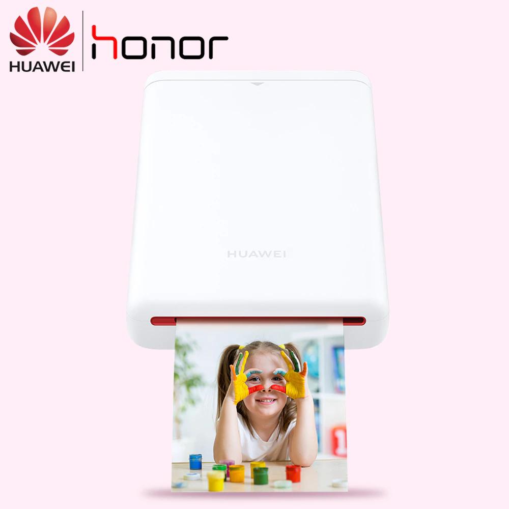 Impresora fotográfica portátil de honor (fotos instantáneas como polaroid)